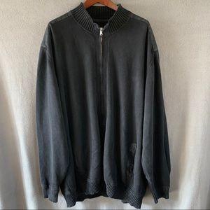 Cutter and Buck full zip knit jacket, 3XT